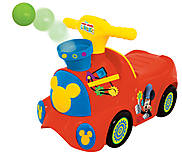 Чудомобиль «Паровоз Микки» серии «Веселые шарики», 052670, детские игрушки