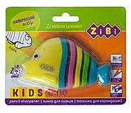 Точилка Kids Line Рыбка с контейнером, ZB.5531-5, цена
