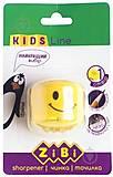 Точилка СМАЙЛИК с контейнером 1 отверстие желтый, ZB.5533-1, детские игрушки