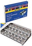 """Набор металлических точилок """"Buromax"""" (24 шт в упаковке), BM.4730-24, игрушки"""