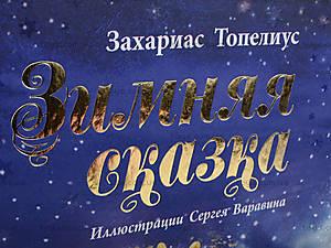 Книга для детей «Зимняя сказка Топелиус», Р128008РР17177Р, фото