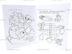 Развивающие задания для детей «Яблоки для ежика», Талант, фото