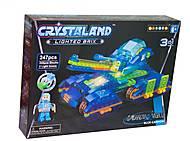 CRYSTALАND - конструктор 247 деталей, 99037, купить