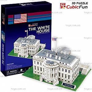 3D конструктор «Белый дом», C01060