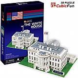 3D конструктор «Белый дом», C01060, отзывы