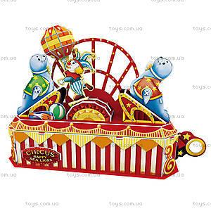 Объемный конструктор-головоломка «Цирк. Веселый морской лев», K1301h