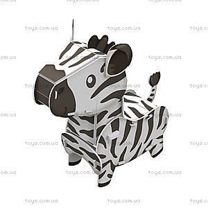 Объемный конструктор-головоломка «Дикие животные. Зебра», K1501h, купить