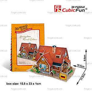 3D конструктор «Германия. Сельский домик», W3128h