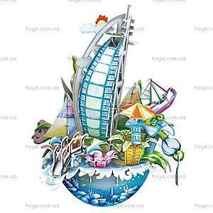 Объемный конструктор-головоломка «Городской пейзаж. Дубай», OC3202