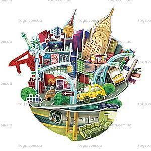 Объемный конструктор-головоломка «Городской пейзаж. Нью-Йорк», OC3203