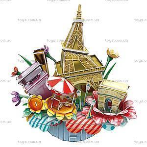 Объемный конструктор-головоломка «Городской пейзаж. Париж», OC3204