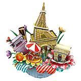 Объемный конструктор-головоломка «Городской пейзаж. Париж», OC3204, отзывы