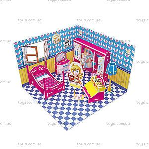 Головоломка-конструктор  «Комната Хани. Спальня», C051-03h