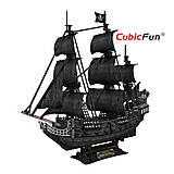 Головоломка-конструктор «Корабль Черной Бороды. Месть Королевы Анны», T4018h, фото