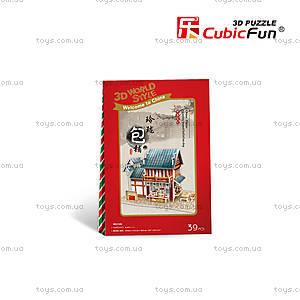 Головоломка-конструктор «Китай. Городской ресторанчик», W3132h, отзывы