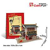 Головоломка-конструктор «Китай. Снек-магазинчик», W3129h