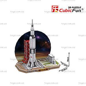 Объемная головоломка «Сатурн V», P653h, купить