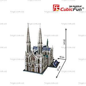 Объемная головоломка «Собор Святого Патрика», C114h, цена