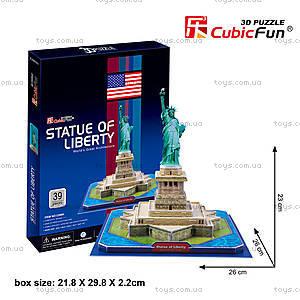 Трехмерная головоломка-конструктор «Статуя Свободы», C02080
