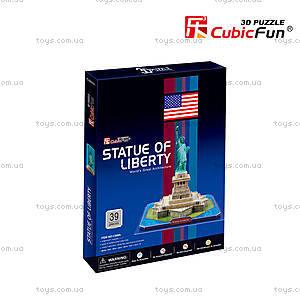 Трехмерная головоломка-конструктор «Статуя Свободы», C02080, отзывы