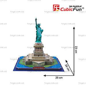 Трехмерная головоломка-конструктор «Статуя Свободы», C02080, цена
