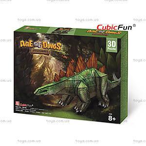 Трехмерная головоломка-конструктор «Стегозавр», P670h, купить