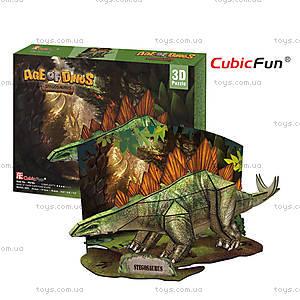 Трехмерная головоломка-конструктор «Стегозавр», P670h