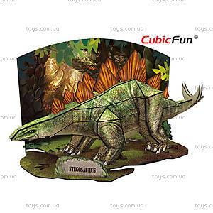 Трехмерная головоломка-конструктор «Стегозавр», P670h, фото