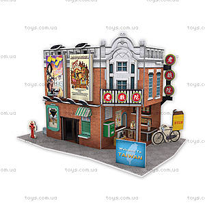 Трехмерная головоломка-конструктор «Тайвань. Городской театр», W3163h