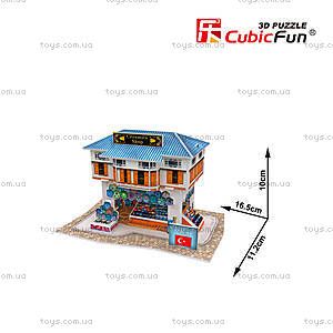 Трехмерная головоломка-конструктор «Турция. Магазин керамики», W3111h, фото