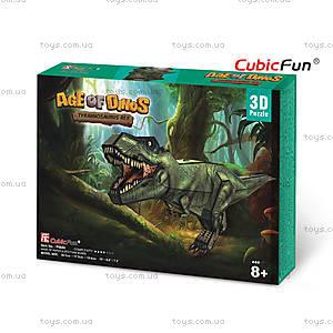 Трехмерная головоломка-конструктор «Тираннозавр Рекс», P668h, купить
