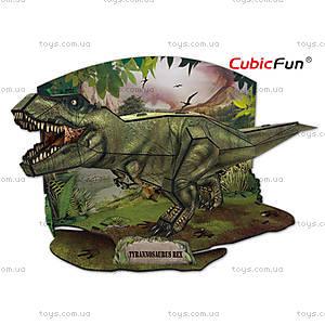Трехмерная головоломка-конструктор «Тираннозавр Рекс», P668h