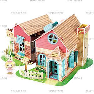 Трехмерная головоломка-конструктор «Уютный домик», P615h