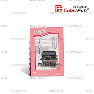 Объемная головоломка «Япония. Магазин сладостей», W3101h, фото