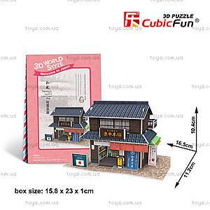 Объемная головоломка «Япония. Магазин сладостей», W3101h, отзывы