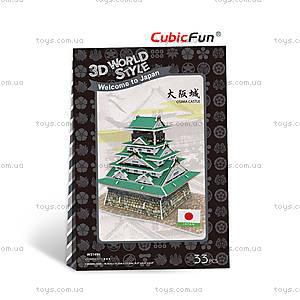 Трехмерный конструктор «Япония. Замок Осака», W3149h, купить