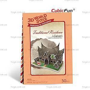 3Д конструктор «Индонезия. Традиционная резиденция», W3145h, купить