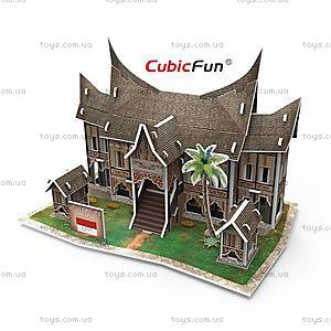 3Д конструктор «Индонезия. Традиционная резиденция», W3145h