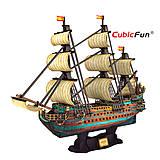 Объемный конструктор «Испанская армада. Сан Фелиппе», T4017h, игрушка