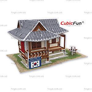 Трехмерный конструктор «Южная Корея. Городская резиденция», W3157h
