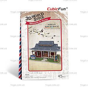 Трехмерный конструктор «Южная Корея. Ресторанчик», W3159h, купить