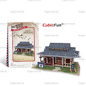 Трехмерный конструктор «Южная Корея. Ресторанчик», W3159h