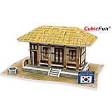 Трехмерный конструктор «Южная Корея. Соломяный домик», W3160h