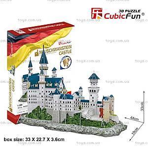 3Д конструктор «Замок Нойшвайнштайн», обновленный, MC062h-2, фото