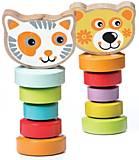 CUBIKA Набор деревянных игрушек «Гибкие животные», 13661, купить