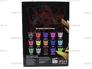 Цветная бумага для аппликаций, двустороняя, TF14-250K, игрушки
