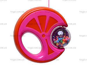 Цветная погремушка «Карусель», 2986/2987/298, цена