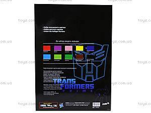 Цветной картон, А4 «Трансформеры», TF13-255К, игрушки