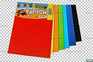 Цветной картон для аппликаций и поделок, ЦК-7