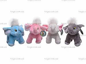 Цветной музыкальный слоник, S-JH3410, купить